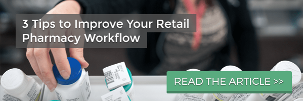 retail pharmacy workflow